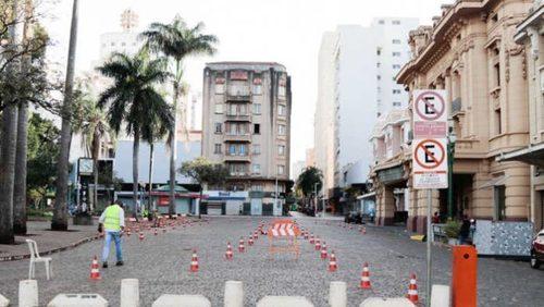 Esplanada do Pedro II reabre 'drive thru'