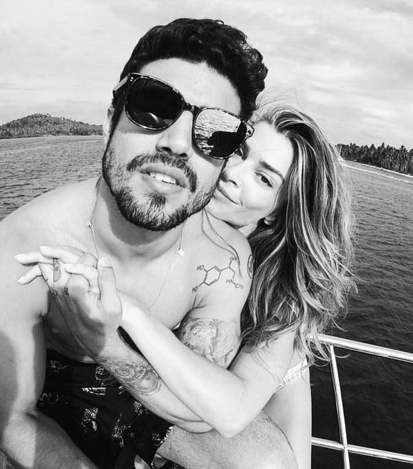Grazi e Caio Castro negam boatos de fim do relacionamento