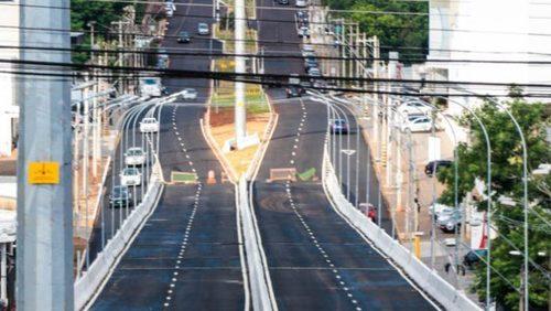 """Viaduto """"Profissionais da Saúde"""" deve ser inaugurado na sexta-feira"""