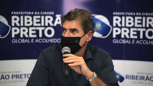 Prefeito Duarte Nogueira mantém Ribeirão Preto na fase laranja durante a semana