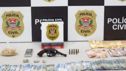 Homem é preso com drogas e arma de fogo em casa de Ribeirão Preto