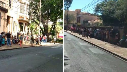 Clientes reclamam de extensas filas em banco de Ribeirão Preto