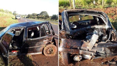 Motorista fica ferido após acidente em rodovia da região