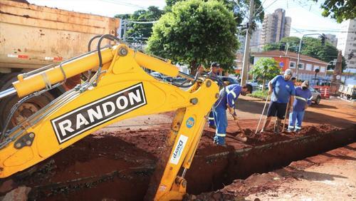 Daerp inicia obra de substituição de 380 metros de rede de esgoto na avenida Independência