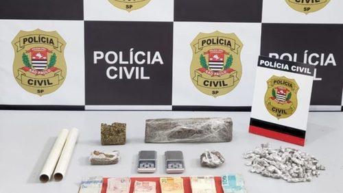 Homem é preso com cerca de 100 porções de maconha em Ribeirão Preto