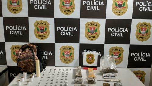 Jovem é preso com 70 porções de maconha em Ribeirão Preto