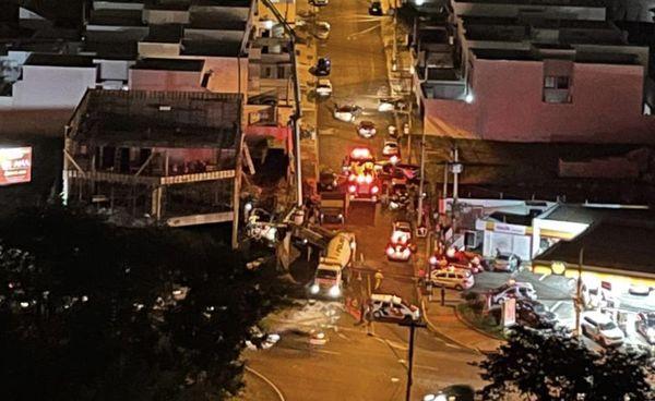 Desabamento de laje de prédio no Jardim Botânico deixa feridos em Ribeirão Preto