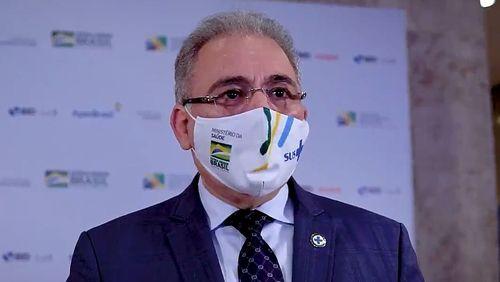 Ministro da Saúde diz que 160 milhões serão vacinados até dezembro no Brasil