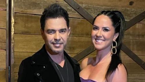 Zezé di Camargo fica noivo de Graciele Lacerda após pressão da mãe