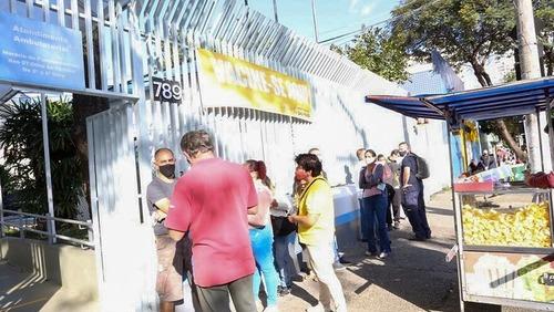 Vacinação na cidade de SP é suspensa por falta de doses