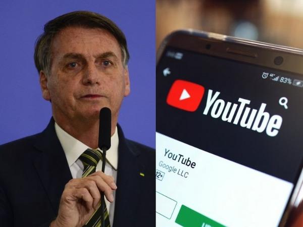 Vídeos de Bolsonaro são removidos do YouTube