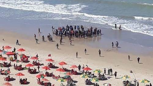 Segundo banhista atacado por tubarão em Pernambuco em três semanas passa bem