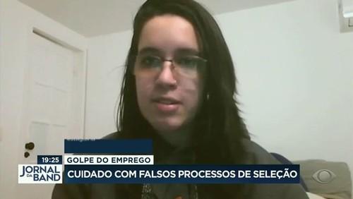 Golpe do emprego: estudante é enganada por falso processo seletivo e perde R$ 250