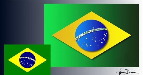 Hans Donner quer mudar a bandeira do Brasil