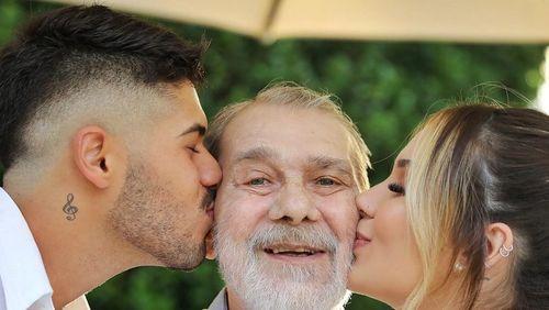 Virginia Fonseca lamenta morte do pai