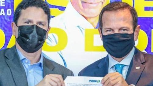 """Doria oficializa pré-candidatura à presidência e diz que candidato do PSDB será """"terceira via"""""""