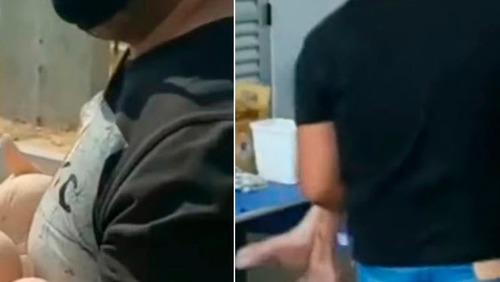 Neto carrega avó de 102 anos no colo para tomar vacina no Distrito Federal