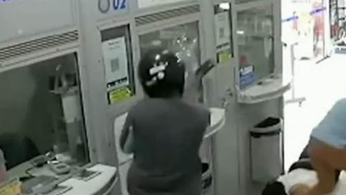 Ladrões usam marreta para roubar lotérica em Franca (SP); veja as imagens
