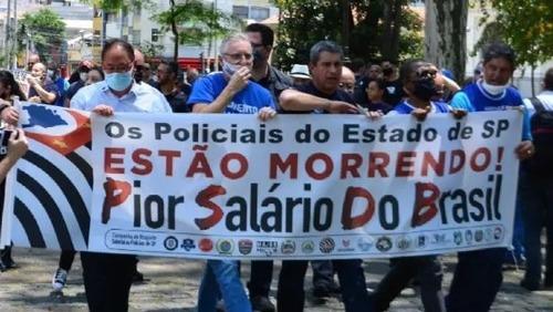 Polícia trabalha com 15 mil profissionais a menos no estado de SP