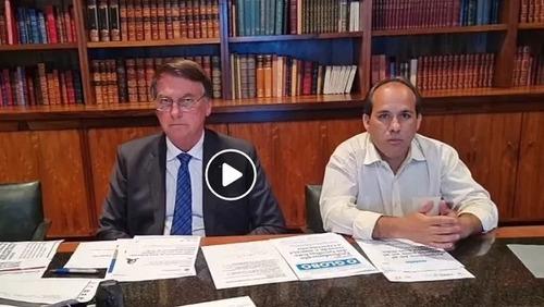 Facebook retira do ar transmissão de Bolsonaro que associa vacinas com Aids