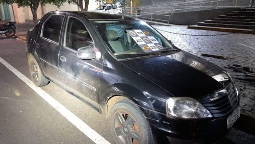 Carro com queixa de apropriação indébita é apreendido na Anhanguera