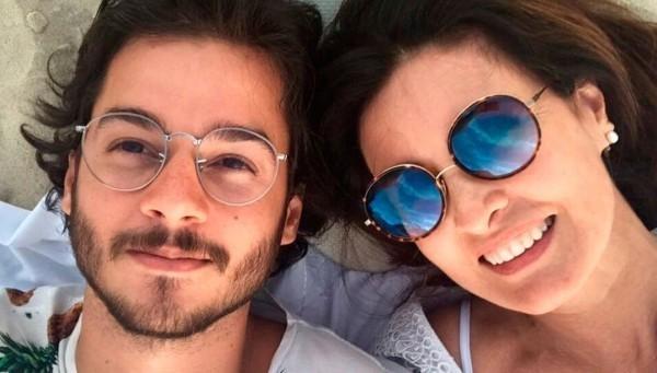 Bonner curte foto de Fátima Bernardes com o namorado