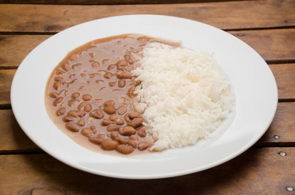 #Saúde&NutriçãoMelody: Arroz e Feijão