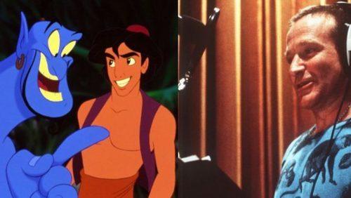 #ClubedaPipoca: Video raro dos bastidores de Aladdin com Robin Williams foi divulgado