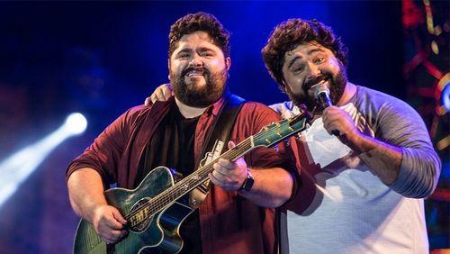 Música na Band exibe show da dupla César Menotti e Fabiano nesta sexta-feira