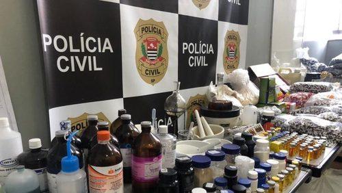 Dise desmantela laboratório clandestino de anabolizantes em Ribeirão Preto