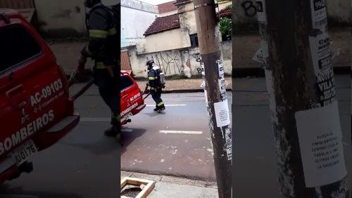 Incêndio atinge casa no Centro de Ribeirão Preto; confira o vídeo