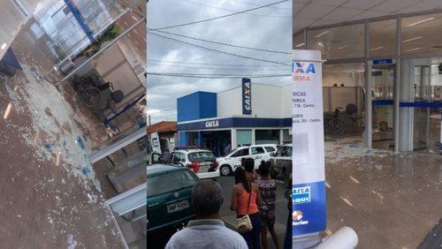 Banco na região de Ribeirão Preto é alvo de assaltantes