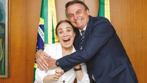 Globo oficializa saída de Regina Duarte da emissora