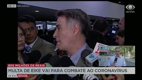 Multa de R$ 800 milhões paga por Eike Batista será destinada ao combate do Covid-19