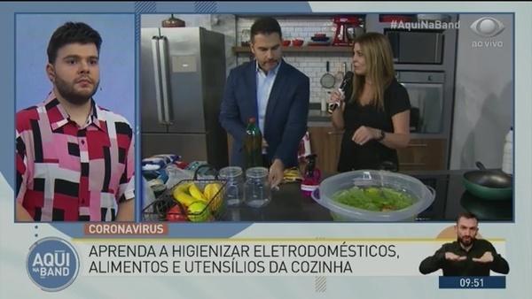 Coronavírus: aprenda a higienizar alimentos e utensílios da cozinha