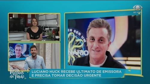 Globo intima Luciano Huck a decidir entre contrato na TV e política