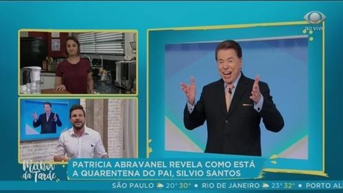 """Patrícia Abravanel desabafa sobre isolamento de Silvio Santos: """"É difícil"""""""