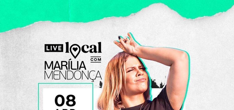Marília Mendonça faz piada e convoca todos os cornos para sua live
