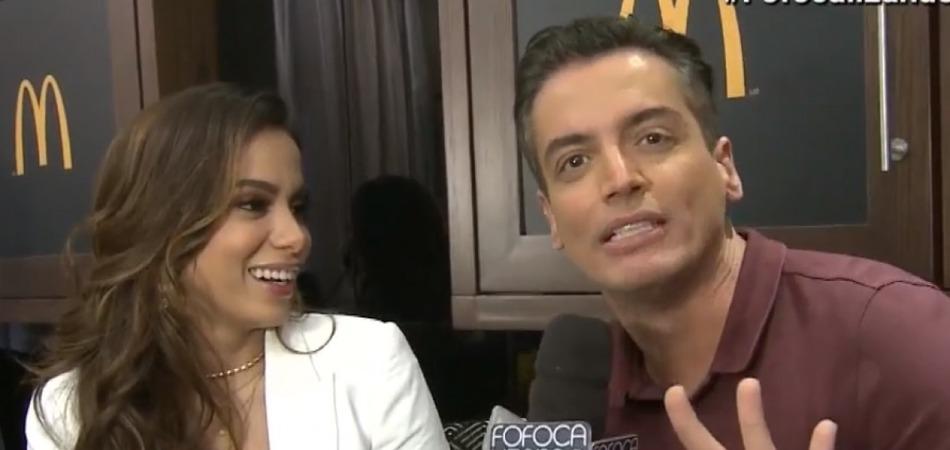 Anitta relata que sofre ameaças do jornalista Leo Dias