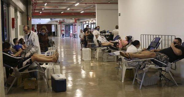 Hemocentro de RP e Botafogo realizam campanha de doação de sangue