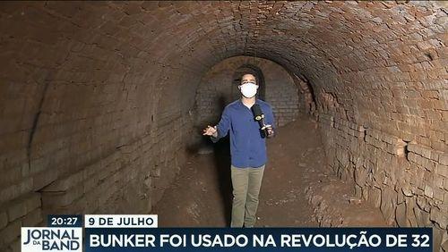 Bunker usado na Revolução de 32 vai ser restaurado em Mogi Mirim
