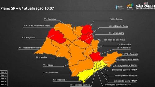 Governo apresenta 6ª atualização do Plano SP e prorroga quarentena em Ribeirão Preto