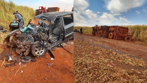 Homem é socorrido em estado grave após acidente na região de Ribeirão Preto