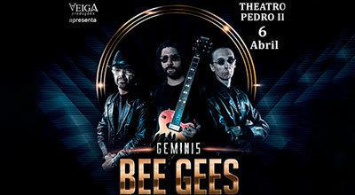 Par de Convites para Geminis Bee Gees no Teatro Pedro II