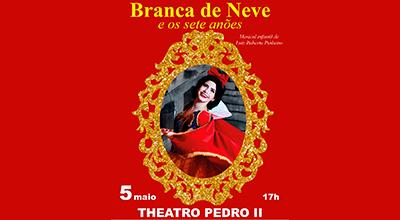 Musical Branca de Neve e os sete anões no Theatro Pedro II