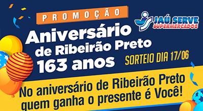Promoção Aniversário de Ribeirão