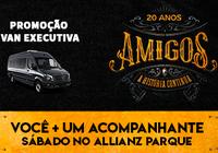 Promoção Van Executiva no Show Amigos
