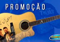 Promoção Violão Autografado Jorge & Mateus