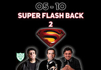 Par de Convites para Super Flash Back 2