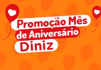 Promoção Mês de Aniversário Óticas Diniz